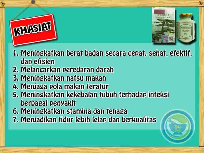 Jual Obat Penggemuk Badan Kianpi Pil di Lampung Barat