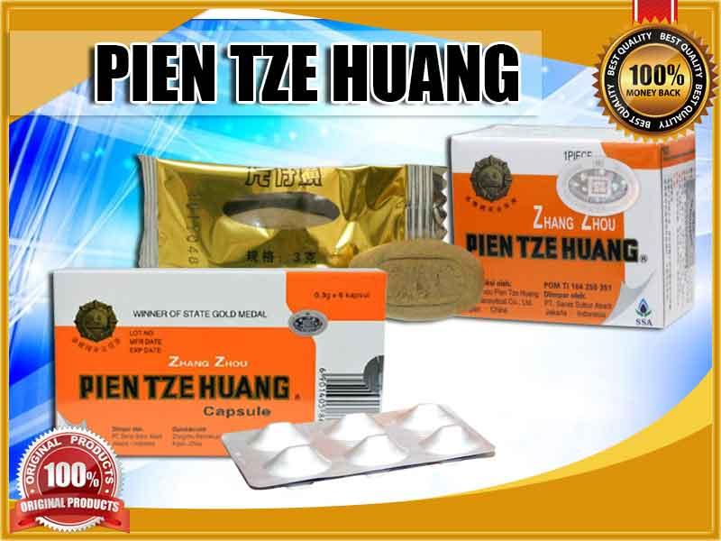 Manfaat Kapsul Pien Tze Huang Original