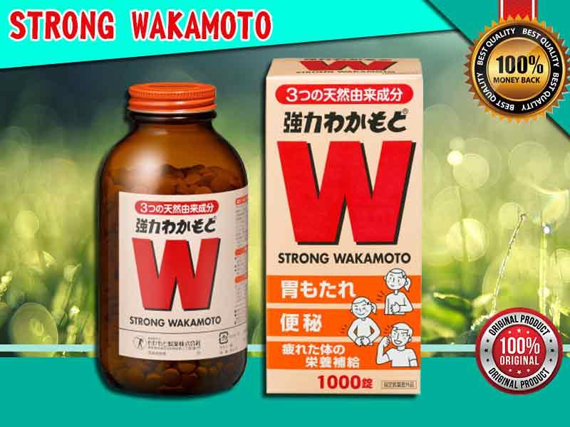 PROMO Obat Nyeri Lambung Strong Wakamoto di Cimahi