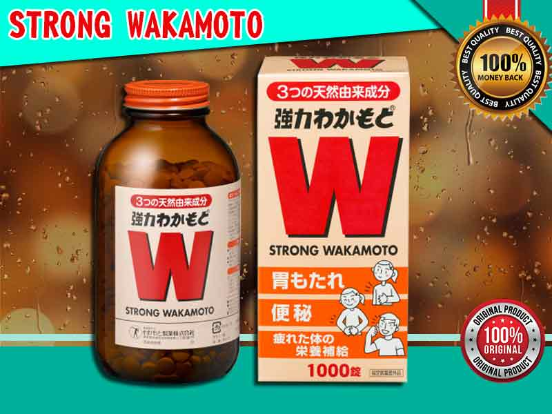 Jual Obat Nyeri Lambung Strong Wakamoto di Idi Rayeuk